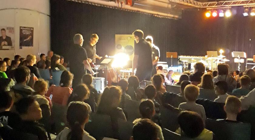 Percussion-Feuerwerk für – Schule auf Kultouren - Bild1