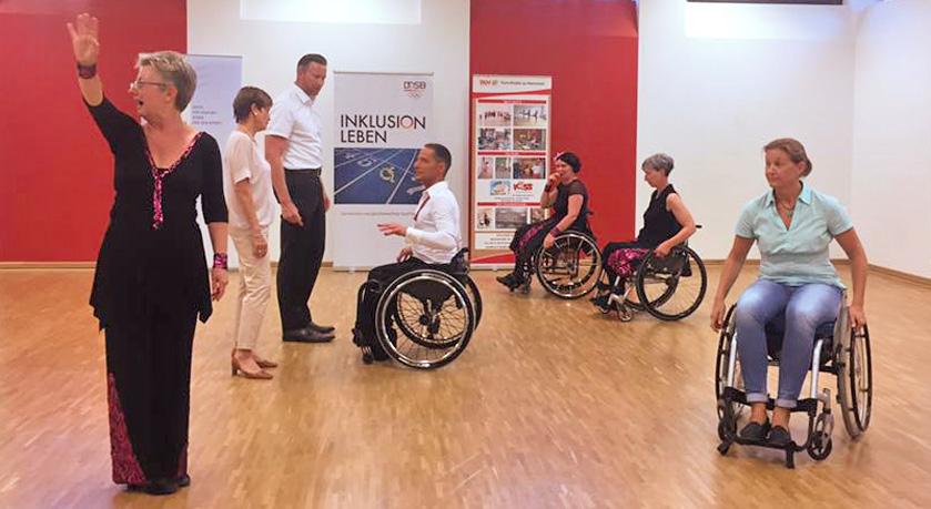 Reichsbund Stiftung unterstützt die Verbesserungen für Menschen mit Behinderungen im Turn-Klubb zu Hannover (TKH) - Bild2