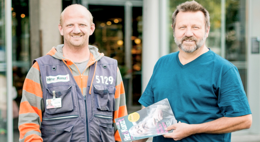 Das Hamburger Straßenmagazin – 25 Jahre Hilfe zur Selbsthilfe - Bild1